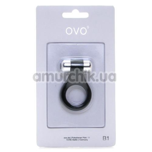 Виброкольцо OVO B1,черное