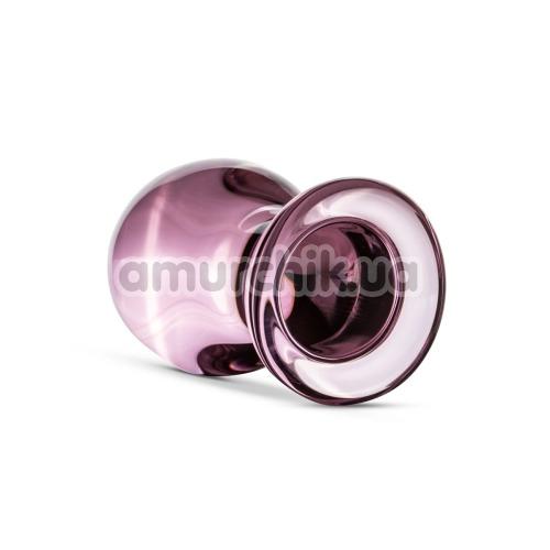 Анальная пробка Gildo Handmade Glass Buttplug No.26, розовая