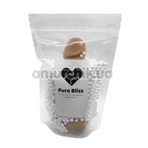Мыло в виде пениса с присоской Pure Bliss M, коричневое