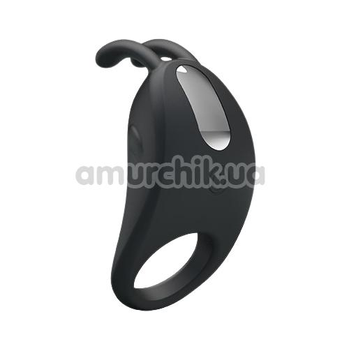 Виброкольцо Pretty Love Rabbit Vibrator, черное