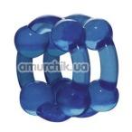 Эрекционное кольцо Stronghold Blue - Фото №1