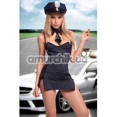 Костюм полицейской Dolce Piccante, синий - Фото №1