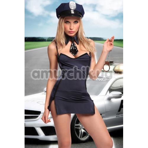 Костюм полицейской Dolce Piccante, синий