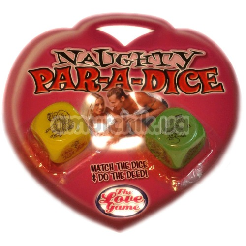 Секс-игра кубики Naughty Par-a-dice