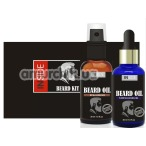 Набор из 2 средств для бороды Inside Beard Oil Kit, 60 мл - Фото №1