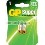 Батарейки GP Super Alkaline Battery LR1 (N), 2 шт - Фото №1