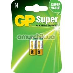Батарейки GP Super Alkaline Battery LR1 (N), 2 шт - Фото №1