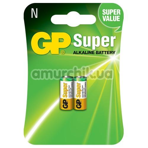 Батарейки GP Super Alkaline Battery LR1 (N), 2 шт