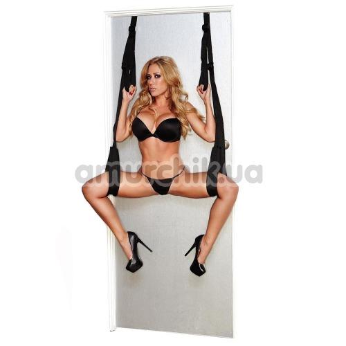 Качели Whipsmart Door Swing, черные - Фото №1