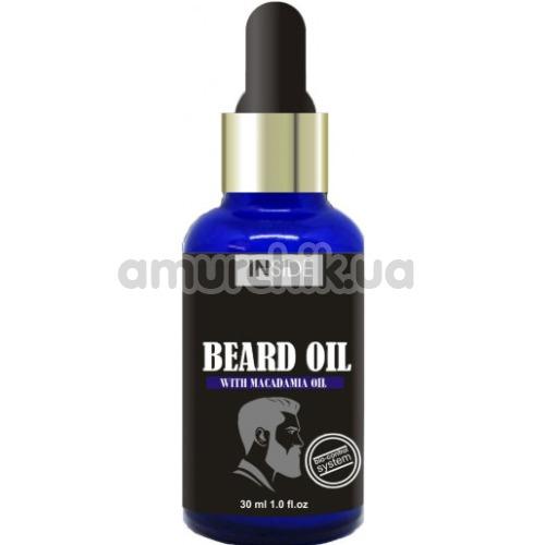 Средство для бороды с маслом макадамии Inside Beard Oil with Macadamia Oil, 30 мл - Фото №1