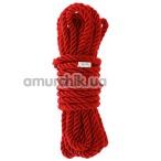 Веревка Blaze Deluxe Bondage Rope 5м, красная - Фото №1