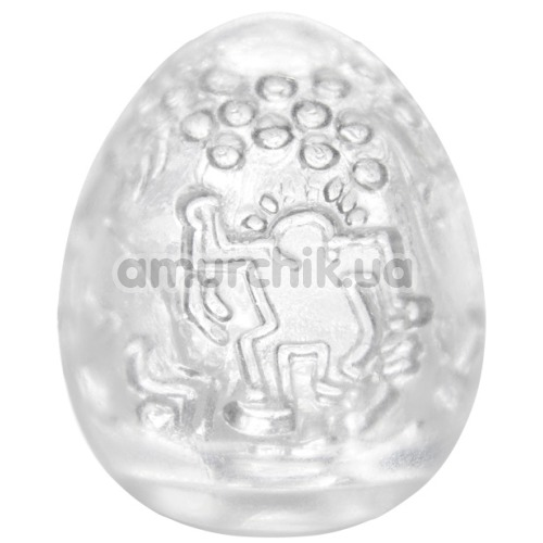 Мастурбатор Tenga Egg Keith Haring Dance Денс