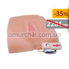Купить Искусственная вагина и анус с вибрацией Full Size Front Entry