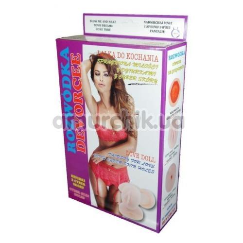 Секс-кукла с вибрацией Devorcee Love Doll