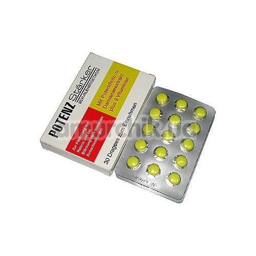 Усилитель эрекции Potenzstarker (30 таблеток) - Фото №1