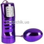 Виброяйцо Brilliant Vibro-Bullet 5.5 см, фиолетовое - Фото №1