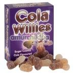 Конфеты в виде пениса Cola Willies - кока-кола, 120 г - Фото №1