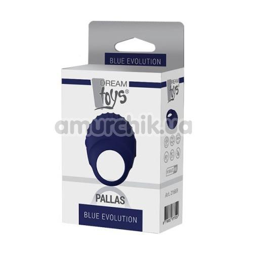 Виброкольцо Blue Evolution Pallas, синее