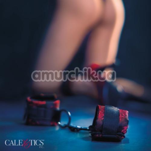 Набор фиксаторов для рук и ног Scandal Universal Cuff Set, красный