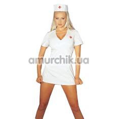 Костюм медсестры Dream Nurse: платье + шапочка - Фото №1