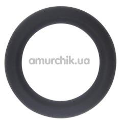Эрекционное кольцо GK Power Cock Sweller No.5, черное - Фото №1