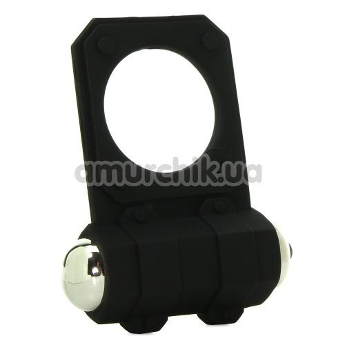 Виброкольцо Silicone Lovers Gear Enhancer, черное