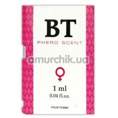 Туалетная вода с феромонами BT Phero Scent, 1 мл для женщин - Фото №1