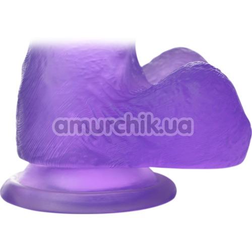 Фаллоимитатор Jelly Studs Medium, фиолетовый