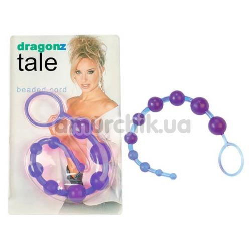 Анальная цепочка Dragonz Tale Beaded Cord, фиолетовая