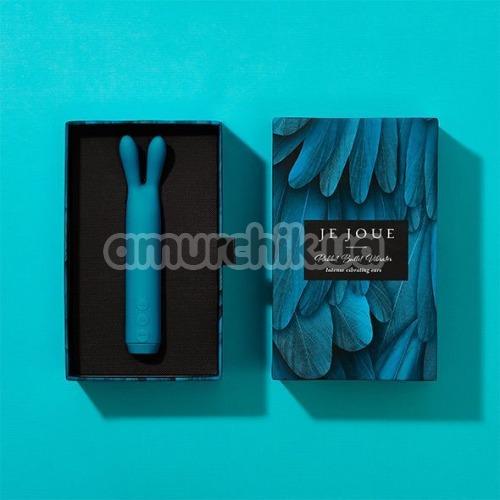 Клиторальный вибратор Je Joue Rabbit Bullet Vibrator, голубой