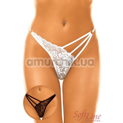 Трусики-стринги женские String черные (модель 2271)