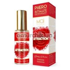 Дезодорант с феромонами для интимных зон Phero Attraction Femenino для женщин, 30 мл - Фото №1