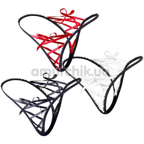Комплект из 3-х трусиков-стрингов Mandy Mystery String 3 er-Pack 2321890 - Фото №1