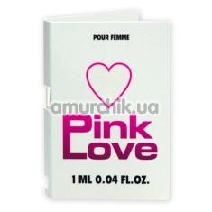 Туалетная вода с феромонами Pink Love, 1 мл - Фото №1