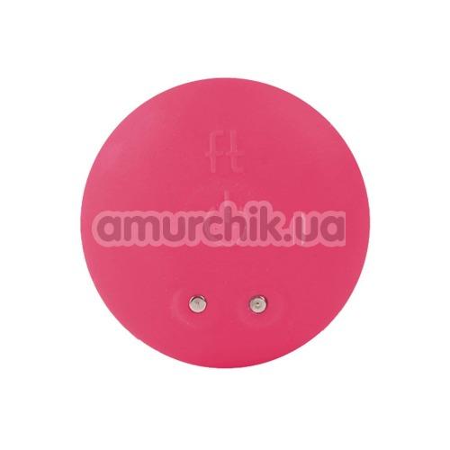 Анальная пробка с вибрацией Gplug большая, розовая