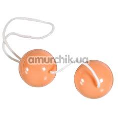 Латексные шарики SuperSoft Orgasmus Balls, телесные
