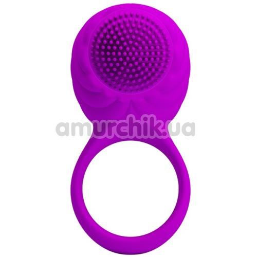 Виброкольцо Pretty Love Florence, фиолетовое