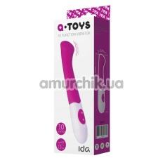 Вибратор для точки G A-Toys 10-Function Vibrator Ida, розовый