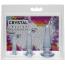 Набор анальных пробок Crystal Jellies Anal Initiation Kit, прозрачный - Фото №4
