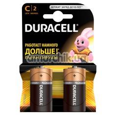 Батарейки Duracell С, 2 шт - Фото №1
