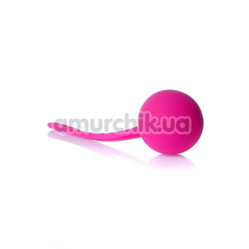 Вагинальный шарик Boss Series Silicone Kegel Ball, розовый