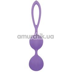 Вагинальные шарики Silicone Blackberries Pussy, фиолетовые - Фото №1