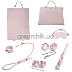 Бондажный набор Bondage Set, розовый - Фото №1