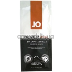 Анальный лубрикант JO Anal Premium Cooling на силиконовой основе - охлаждающий эффект, 10 мл - Фото №1