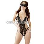Комплект Body With Mask черный: боди + маска - Фото №1