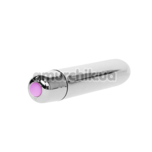 Клиторальный вибратор Mini Vibe Ultra Power, серебряный