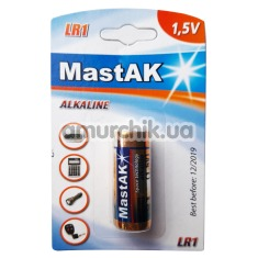 Батарейка MastAK Alkaline LR1, 1 шт - Фото №1