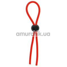 Эрекционное кольцо Dream Toys Lit-Up Rings Stretchy Lasso Red, красное - Фото №1