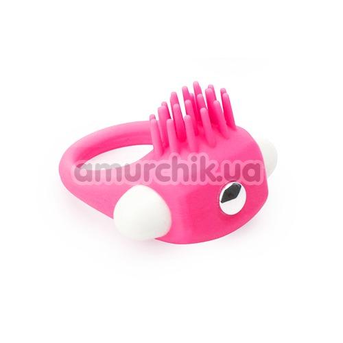 Виброкольцо Lit-Up Silicone Stimu-Ring 5, розовое