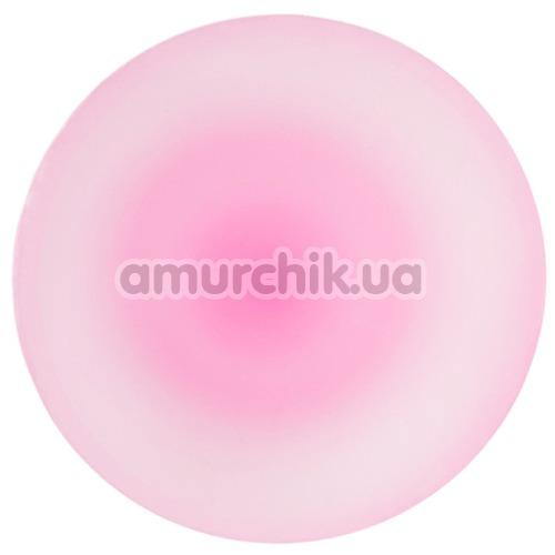 Анальная пробка Beyond John Glow, розовая